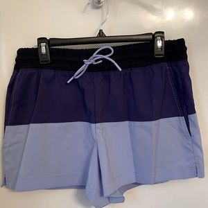NWOT Athleta Color lock Shorts